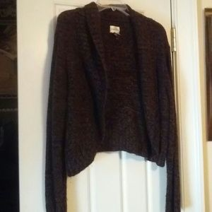 Chico's sweater  in brown and black